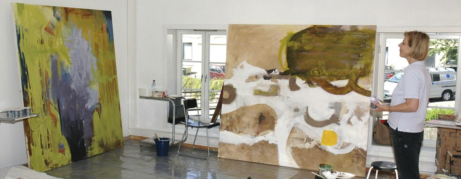 Nydalen Kunstskole Big painting