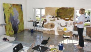 Nydalen Kunstskole malekurs big painting maleri