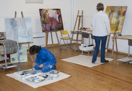 Nydalen Kunstskole malekurs maleri