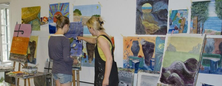 Nydalen Kunstskole malekurs