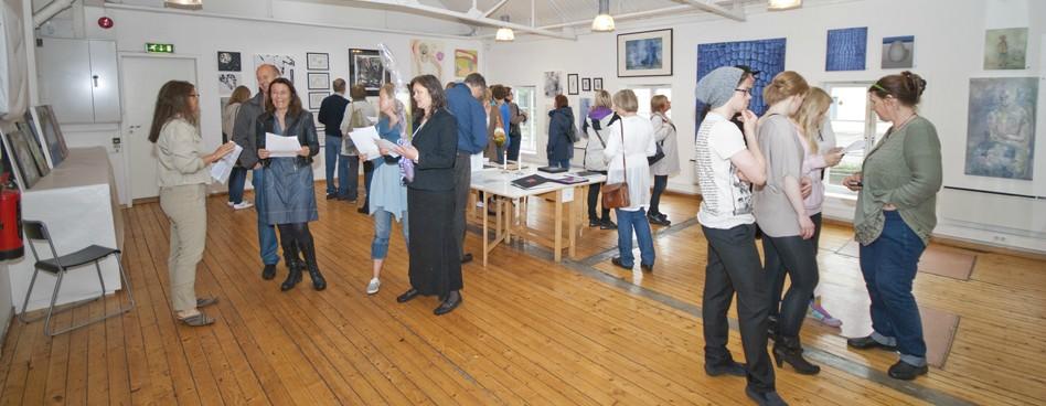 Nydalen Kunstskole utstilling