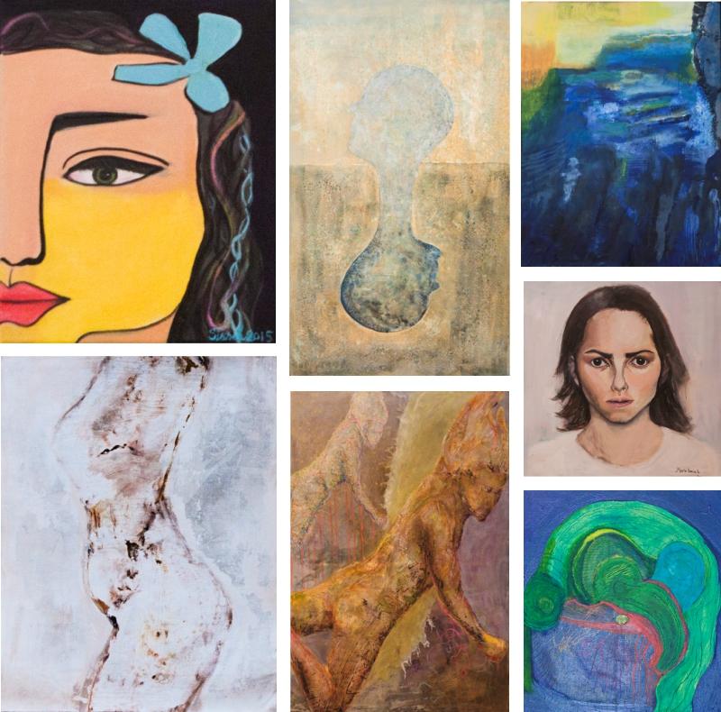 Nydalen Kunstskole - Invitasjon sommerutstilling 2015 billedkunstutdanningen 1.klasse