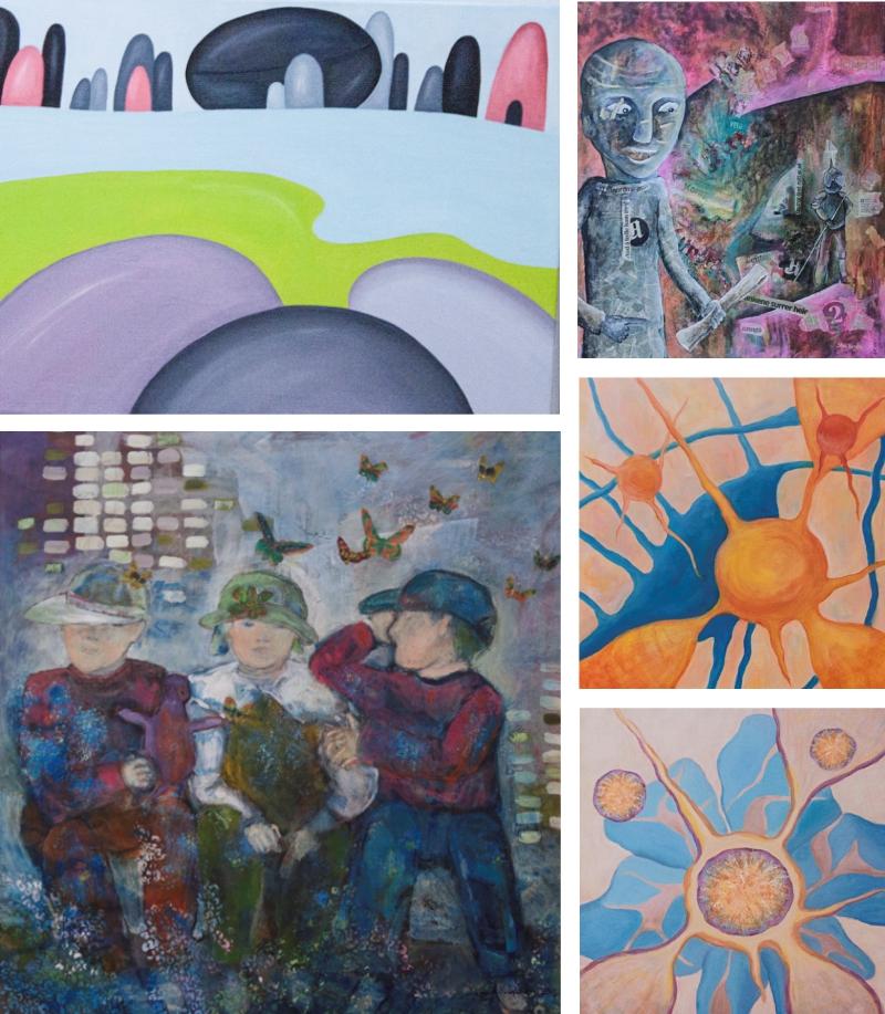 Nydalen Kunstskole - Invitasjon sommerutstilling 2015 Billedkunstutdanningen 2.klasse