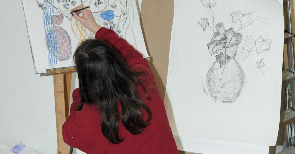 Hånden som ser – tegning for nybegynnere