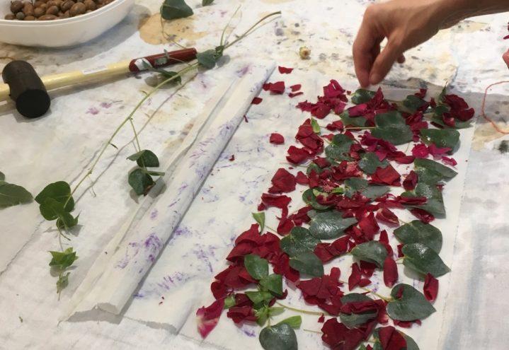 Plantefarging og naturlige fargeemner