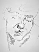 """Kort Kurs """"Tegne portrett"""" tirsdag formiddag 09:30-12:30 med oppstart 19. mai – FULLT"""
