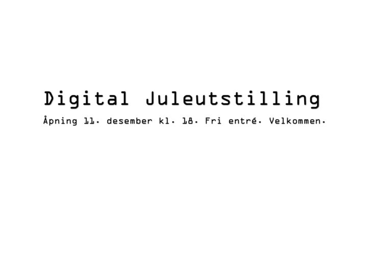 X Karusell digital juleutstilling 2020